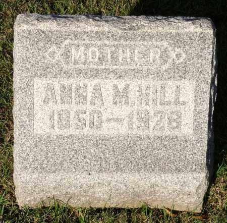 HILL, ANNA M. - Orleans County, New York | ANNA M. HILL - New York Gravestone Photos