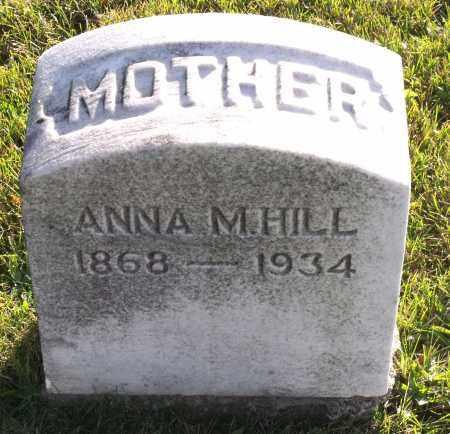 HILL, ANNA M. - Orleans County, New York   ANNA M. HILL - New York Gravestone Photos