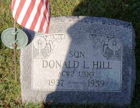 HILL (SERV), DONALD L. - Orleans County, New York | DONALD L. HILL (SERV) - New York Gravestone Photos