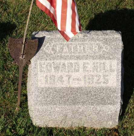 HILL, EDWARD E. - Orleans County, New York | EDWARD E. HILL - New York Gravestone Photos