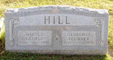 HILL, HAROLD GEORGE - Orleans County, New York | HAROLD GEORGE HILL - New York Gravestone Photos
