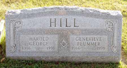 PLUMMER HILL, GENEVIEVE - Orleans County, New York | GENEVIEVE PLUMMER HILL - New York Gravestone Photos