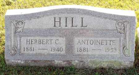 HILL, HERBERT C. - Orleans County, New York   HERBERT C. HILL - New York Gravestone Photos