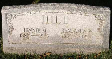 HILL, BENJAMIN W. - Orleans County, New York | BENJAMIN W. HILL - New York Gravestone Photos