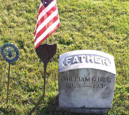 HILL, WILLIAM G. - Orleans County, New York | WILLIAM G. HILL - New York Gravestone Photos