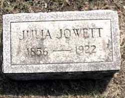 JOWETT, JULIA - Orleans County, New York | JULIA JOWETT - New York Gravestone Photos