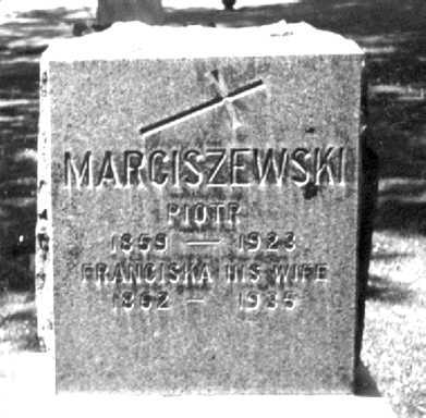MARCISZEWSKI, PIOTR (PETER) - Orleans County, New York | PIOTR (PETER) MARCISZEWSKI - New York Gravestone Photos