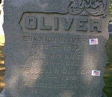 OLIVER, PERSIS - Orleans County, New York | PERSIS OLIVER - New York Gravestone Photos