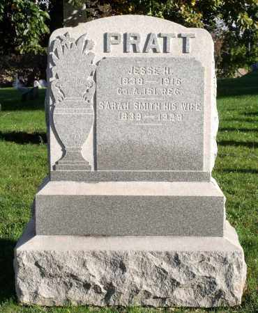PRATT, JESSE H. - Orleans County, New York | JESSE H. PRATT - New York Gravestone Photos