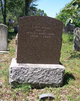 WADE ARMSTRONG, LUCY - Oswego County, New York | LUCY WADE ARMSTRONG - New York Gravestone Photos