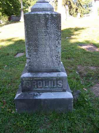 CROLIUS, GEORGE - Oswego County, New York   GEORGE CROLIUS - New York Gravestone Photos
