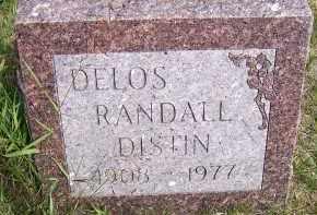 DISTIN, DELOS RANDALL - Oswego County, New York | DELOS RANDALL DISTIN - New York Gravestone Photos