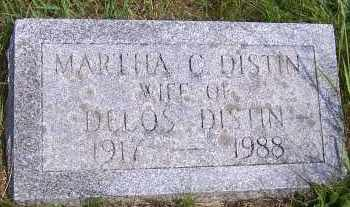 DISTIN, MARTHA C. - Oswego County, New York   MARTHA C. DISTIN - New York Gravestone Photos