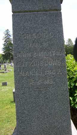 FITZGIBBONS, GRACIE - Oswego County, New York | GRACIE FITZGIBBONS - New York Gravestone Photos