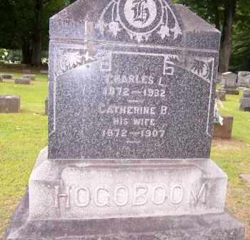 HOGOBOOM, CATHERINE B. - Oswego County, New York | CATHERINE B. HOGOBOOM - New York Gravestone Photos