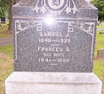 HOGOBOOM, SAMUEL J. - Oswego County, New York | SAMUEL J. HOGOBOOM - New York Gravestone Photos