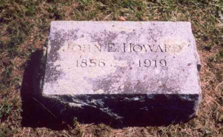 HOWARD, JOHN EDWIN - Oswego County, New York | JOHN EDWIN HOWARD - New York Gravestone Photos