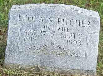 PITCHER, LEOLA S - Oswego County, New York | LEOLA S PITCHER - New York Gravestone Photos