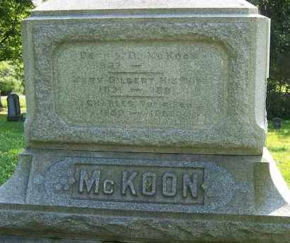 MCKOON, DENNIS D - Oswego County, New York | DENNIS D MCKOON - New York Gravestone Photos