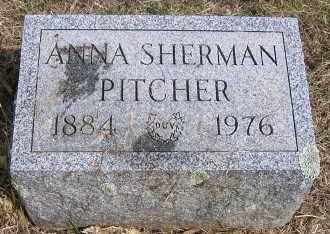 SHERMAN, ANNA - Oswego County, New York | ANNA SHERMAN - New York Gravestone Photos