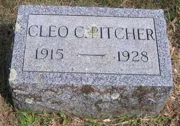 PITCHER, CLEO - Oswego County, New York   CLEO PITCHER - New York Gravestone Photos