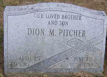 PITCHER, DION M. - Oswego County, New York | DION M. PITCHER - New York Gravestone Photos