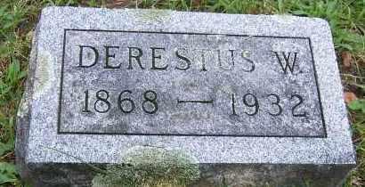 PITCHER, DERESTUS W. - Oswego County, New York | DERESTUS W. PITCHER - New York Gravestone Photos