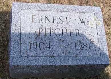 PITCHER, ERNEST WILLIAM - Oswego County, New York | ERNEST WILLIAM PITCHER - New York Gravestone Photos