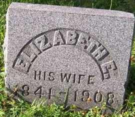 PITCHER, ELIZABETH E. - Oswego County, New York   ELIZABETH E. PITCHER - New York Gravestone Photos
