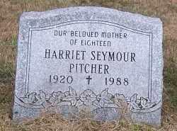 PITCHER, HARRIET - Oswego County, New York | HARRIET PITCHER - New York Gravestone Photos