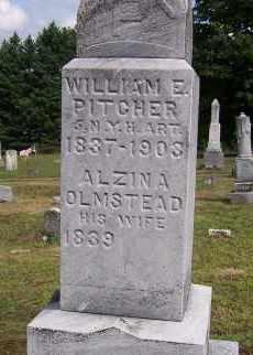 PITCHER, ALZINA - Oswego County, New York | ALZINA PITCHER - New York Gravestone Photos