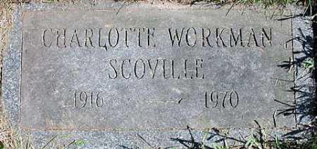 SCOVILLE, CHARLOTTE - Oswego County, New York | CHARLOTTE SCOVILLE - New York Gravestone Photos