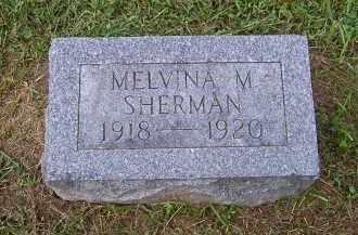 SHERMAN, MELVINA M. - Oswego County, New York | MELVINA M. SHERMAN - New York Gravestone Photos