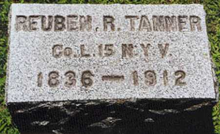 TANNER (CW), REUBEN - Oswego County, New York | REUBEN TANNER (CW) - New York Gravestone Photos