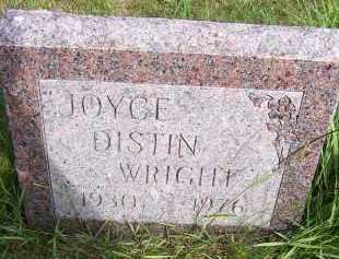 DISTIN WRIGHT, JOYCE - Oswego County, New York | JOYCE DISTIN WRIGHT - New York Gravestone Photos