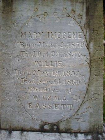 BASSETT, MARY IMOGENE - Otsego County, New York | MARY IMOGENE BASSETT - New York Gravestone Photos