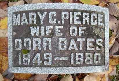 BATES, MARY C - Otsego County, New York | MARY C BATES - New York Gravestone Photos