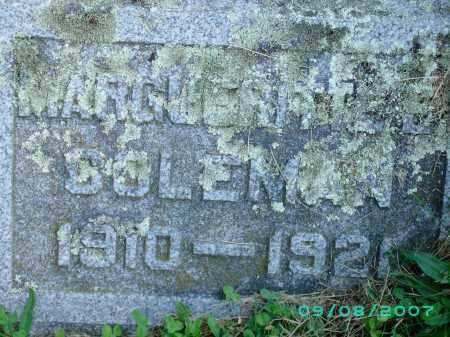 COLEMAN, MARGUERITE - Otsego County, New York   MARGUERITE COLEMAN - New York Gravestone Photos