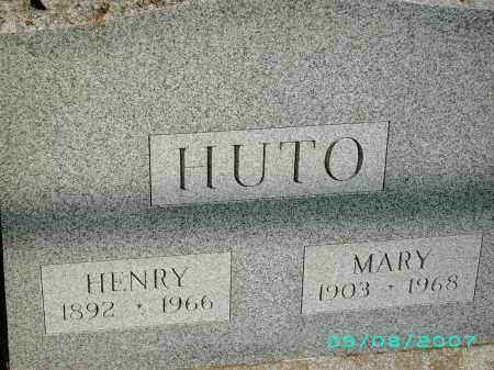 GAUGHAN HUTO, MARY - Otsego County, New York | MARY GAUGHAN HUTO - New York Gravestone Photos