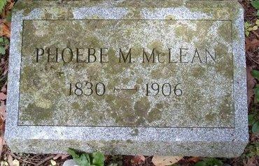 MCLEAN, PHOEBE M - Otsego County, New York   PHOEBE M MCLEAN - New York Gravestone Photos
