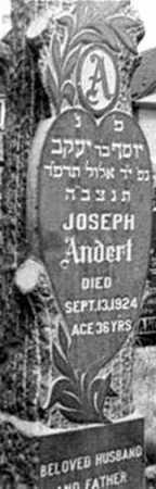ANDERT, JOSEPH - Queens County, New York | JOSEPH ANDERT - New York Gravestone Photos