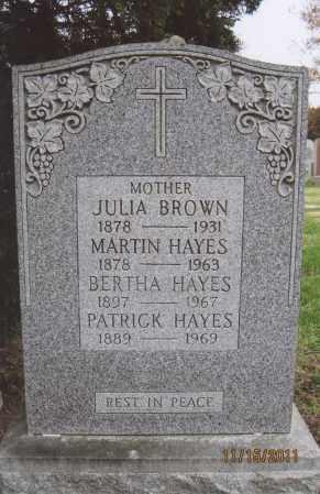 HAYES, BERTHA - Queens County, New York | BERTHA HAYES - New York Gravestone Photos