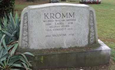 KROMM, CONRAD FREIDRICH - Queens County, New York | CONRAD FREIDRICH KROMM - New York Gravestone Photos