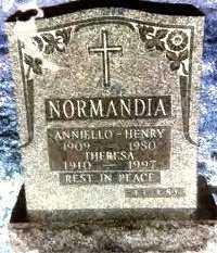NORMANDIA, ANNIELLO - HENRY - Queens County, New York | ANNIELLO - HENRY NORMANDIA - New York Gravestone Photos