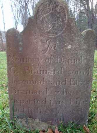 BRAINARD, DANIEL G - Rensselaer County, New York | DANIEL G BRAINARD - New York Gravestone Photos