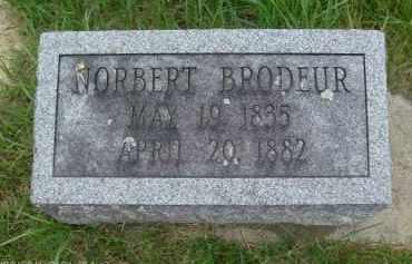 BRODEUR, NORBERT - Rensselaer County, New York | NORBERT BRODEUR - New York Gravestone Photos