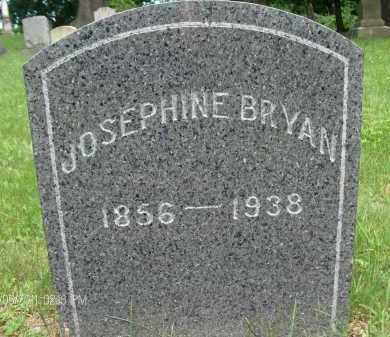 BRYAN, JOSEPHINE - Rensselaer County, New York | JOSEPHINE BRYAN - New York Gravestone Photos