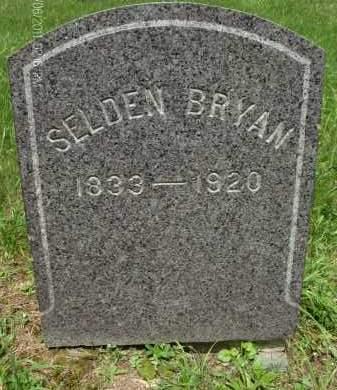 BRYAN, SELDEN - Rensselaer County, New York   SELDEN BRYAN - New York Gravestone Photos