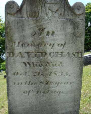 CHASE, DAVID - Rensselaer County, New York | DAVID CHASE - New York Gravestone Photos