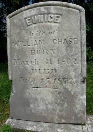 CHASE, EUNICE - Rensselaer County, New York | EUNICE CHASE - New York Gravestone Photos